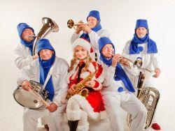 Оркестр Снеговиков и снегурочка
