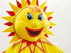 Солнышко ростовая кукла